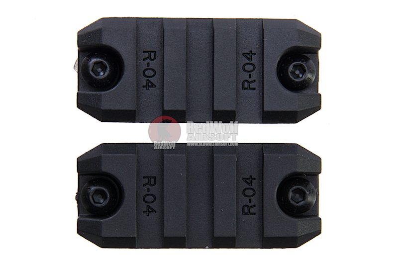 ARES Amoeba 2 inch Plastic Key Rail System for M-Lok System (2pcs / Pack)