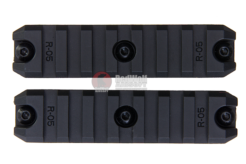 ARES Amoeba 3.5 inch Plastic Key Rail System for M-Lok System (2pcs / Pack)
