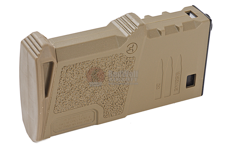 ARES Amoeba 120 rds Short Magazines for M4 / M16 AEG - DE