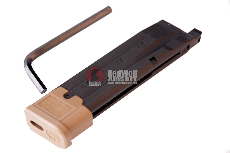 SIG AIR 25rds Magazine for P320 M17 GBB (Co2) (Licensed by SIG Sauer) (by VFC)
