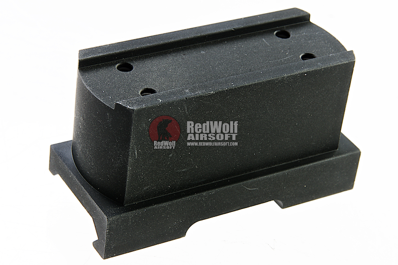 AIM QD Riser Mount for T1 and T2 - Black