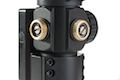 AIM M3 Red/Green Dot With L Shaped Mount - BK