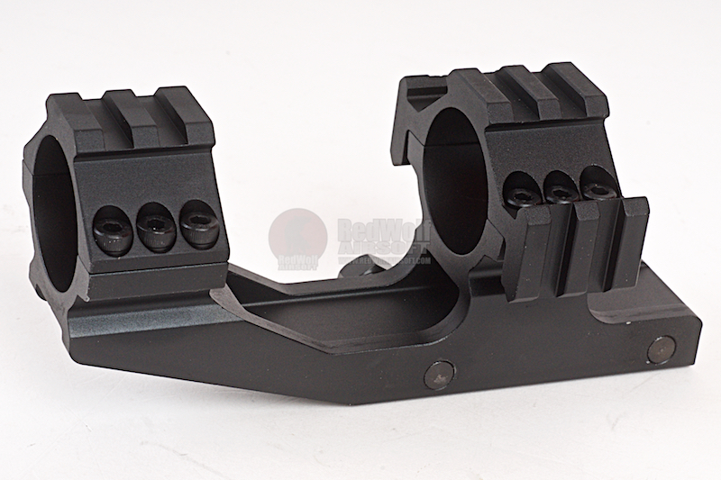 AIM Tri-Side Rail Extend 30mm Ring Mount - BK