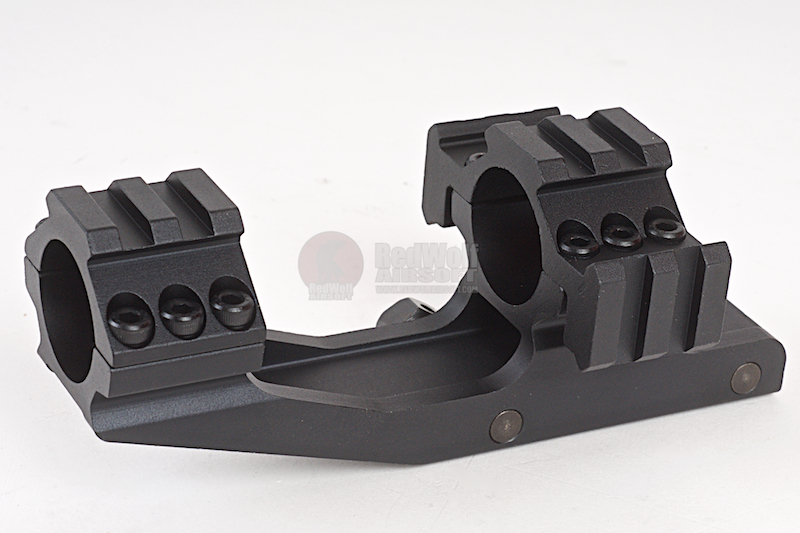 AIM Tri-Side Rail Extend 25.4mm Ring Mount Type 1 - BK