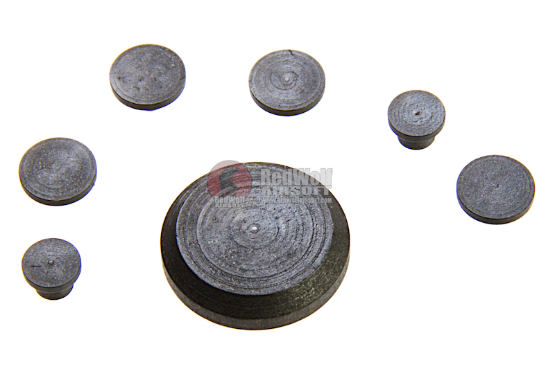Alpha Parts Steel Receiver Dummy Pin Set for Systema PTW M4 Series