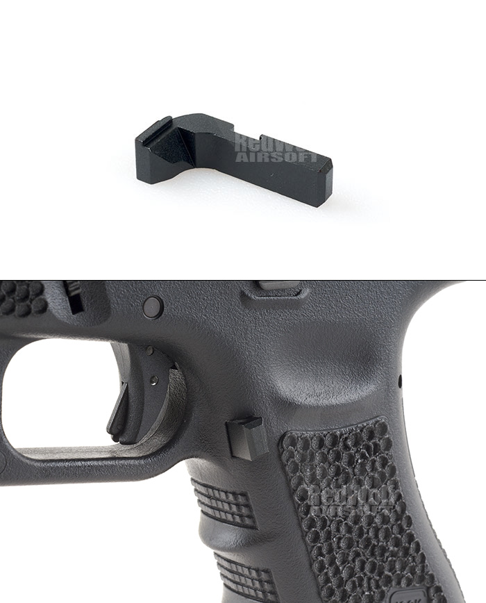 Airsoft Surgeon Diamond Extended Magazine Catch for Tokyo Marui G17