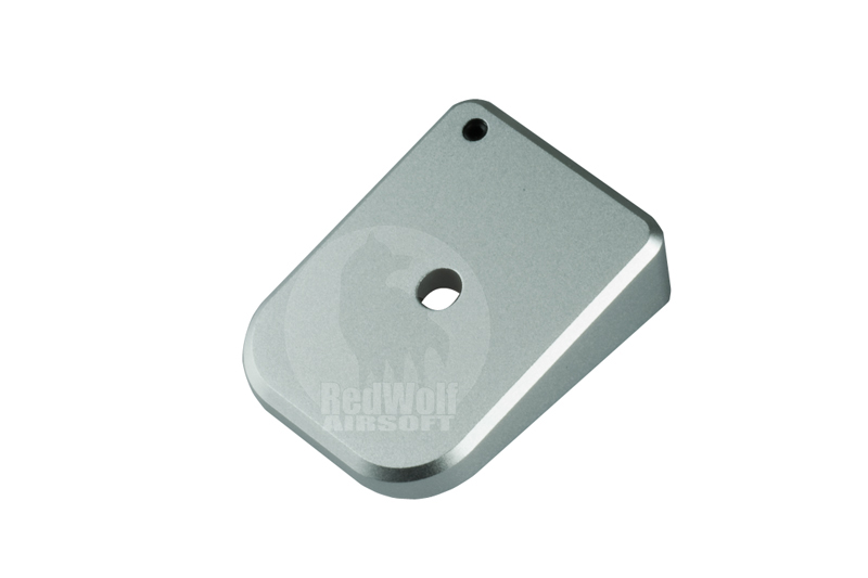 Airsoft Surgeon Magazine Base Pad SV (Silver)