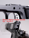Airsoft Surgeon Slide Guide for Tokyo Marui M1911 / MEU Reinforced CNC parts