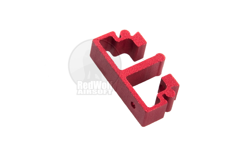Airsoft Surgeon SV Trigger Front Part for Tokyo marui Hi-Cap - Type 1 (Red)
