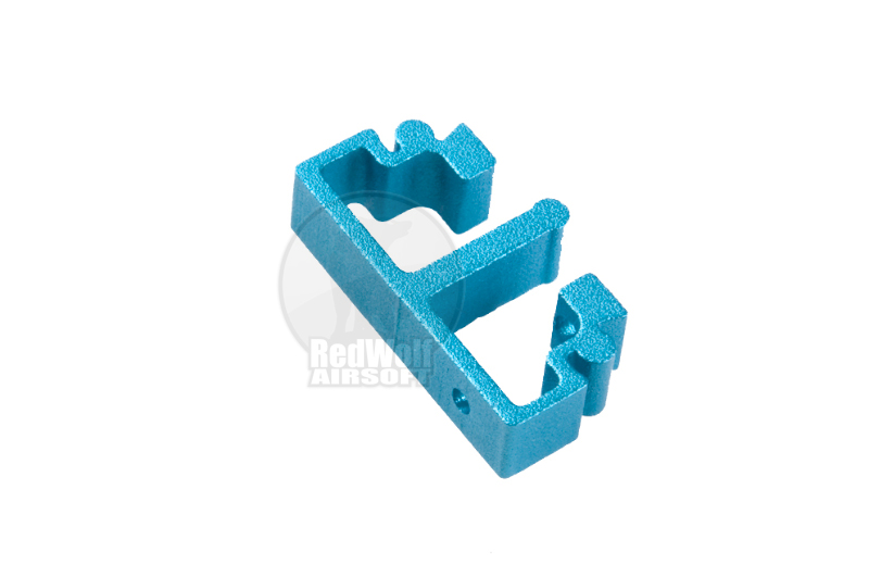 Airsoft Surgeon SV Trigger Front Part for Tokyo marui Hi-Cap - Type 1 (Blue)
