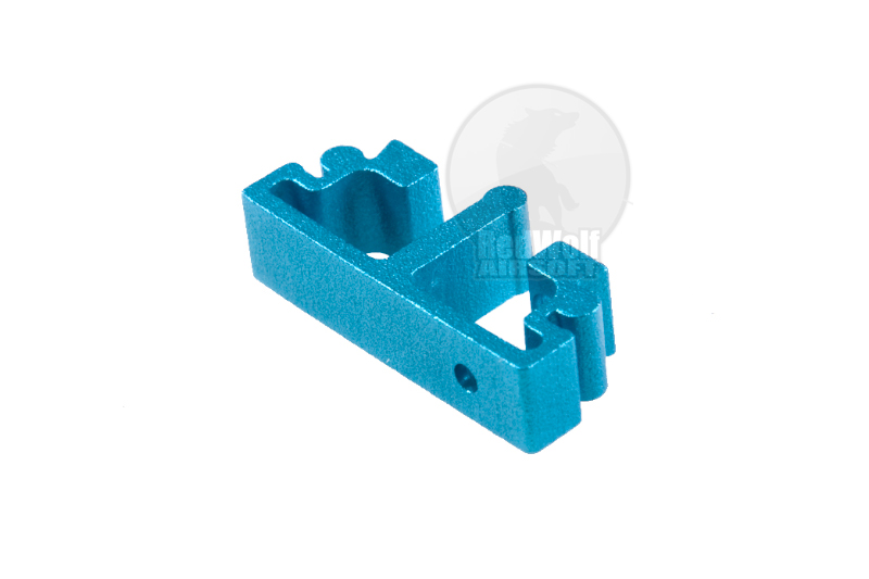 Airsoft Surgeon SV Trigger Front Part for Tokyo marui Hi-Cap - Type 2 (Blue) <font color=yellow>(Clearance)</font>