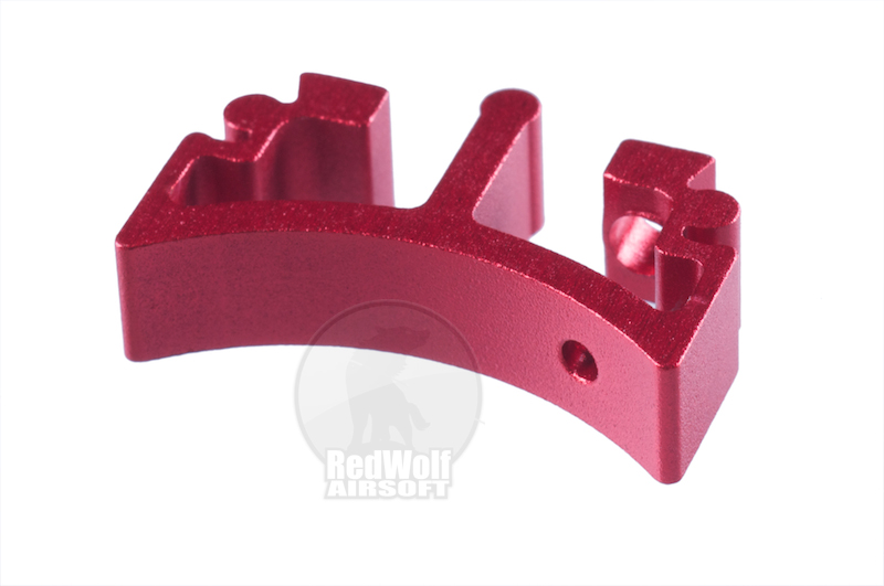 Airsoft Surgeon SV Trigger Front Part for Tokyo marui Hi-Cap - Type 4 (Red)