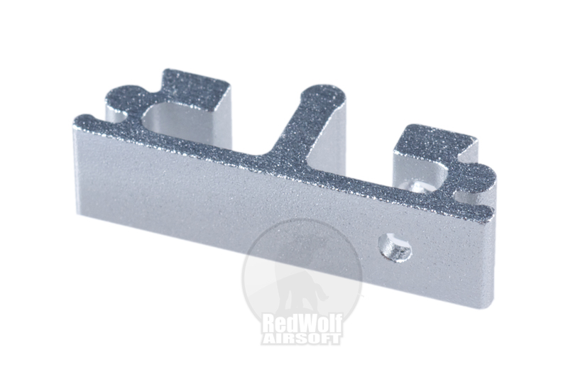 Airsoft Surgeon SV Trigger Front Part for Tokyo marui Hi-Cap - Type 6 (Silver)