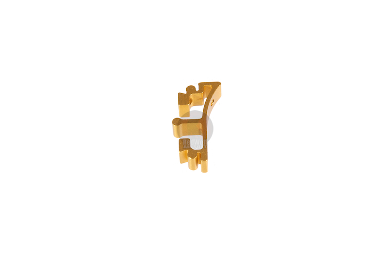Airsoft Surgeon SV Trigger Front Part for Tokyo marui Hi-Cap - Type 8 (Gold)
