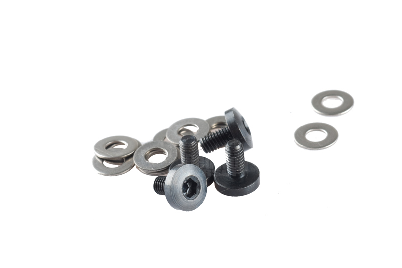 Airsoft Surgeon Hex Screw set for Marui 1911 (Stainless Steel / Black)