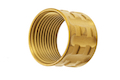 Airsoft Surgeon TP-Pro Knurled Thread Protector - 14mm CCW - Gold