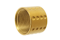 Airsoft Surgeon Spots Knurled Thread Protector - 14mm CCW - Gold