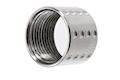 Airsoft Surgeon Spots Knurled Thread Protector - 14mm CCW - Silver
