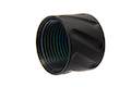Airsoft Surgeon Diagonals Knurled Thread Protector - 14mm CCW - Black