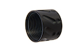 Airsoft Surgeon Knurled Thread Protector -14mm CCW - Black