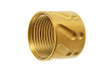 Airsoft Surgeon Knurled Thread Protector -14mm CCW - Gold