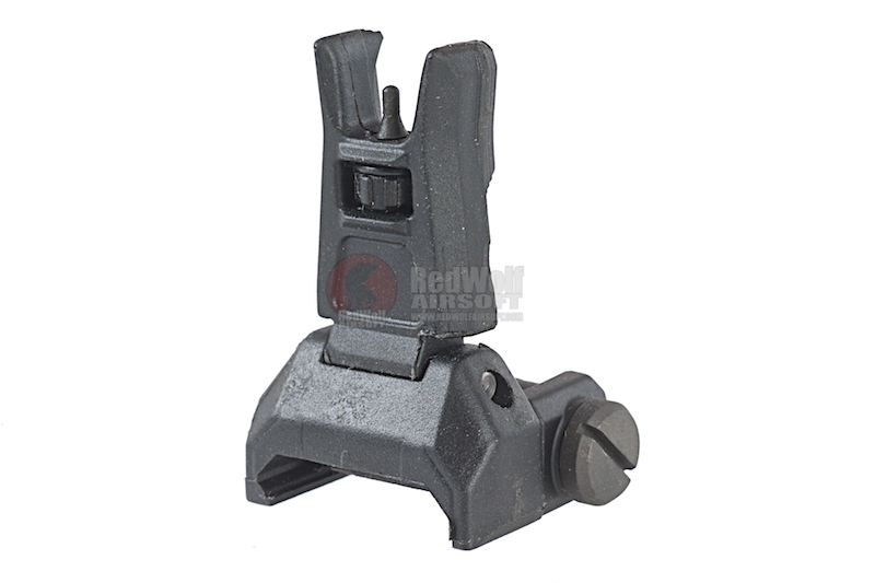 ARES Reinforced Nylon Fiber Flip-up Front Sight for Milspec 1913 Picatinny Rail (AS-F-020) - Black