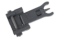 ARES Reinforced Nylon Fiber Flip-up Front Sight for Milspec 1913 Picatinny Rail (AS-F-021) - Black