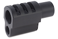 Airsoft Surgeon Punisher Compensator For Tokyo Marui 1911 Style 1 - Black
