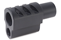 Airsoft Surgeon Punisher Compensator For Tokyo Marui 1911 Style 2 - Black