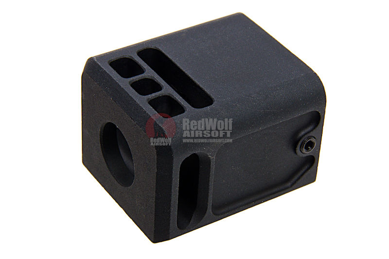 Airsoft Surgeon Micro Comp V3 for G Series (14mm CCW) - Black