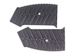 Airsoft Surgeon CNC Grip Pad for M4 GBBR - Type 3