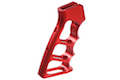 Airsoft Surgeon CNC Aluminum Skeletonized Grip for M4 GBBR - Red