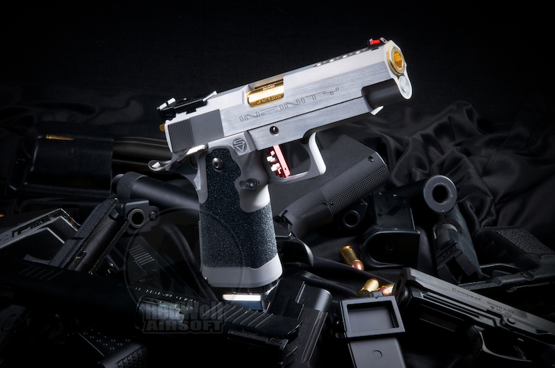 Airsoft Surgeon Infinity 4.3 Hybrid (Silver) (Worldwide Limited edition)