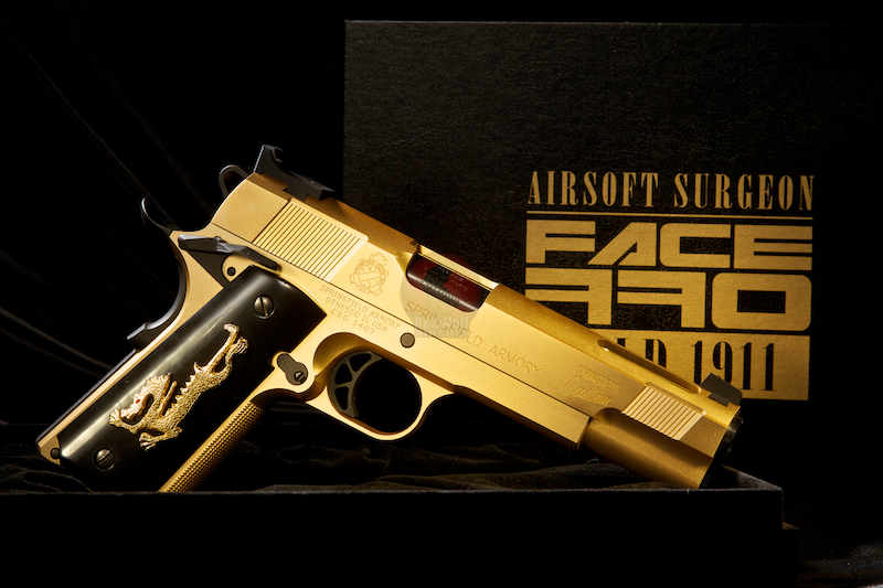 Airsoft Surgeon Face Off V12 Aluminium Edition (Limited Edition)