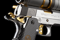 Airsoft Surgeon GOLD FINGER INFINITY OPEN With Aim Point Comp