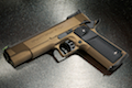Airsoft Surgeon Infinity Tactical 1911 (Cerakote Burnt Bronze)