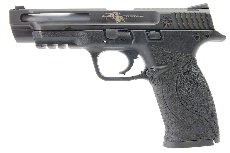 Airsoft Surgeon Costa Steel 5 inch M&P9 GBB Pistol