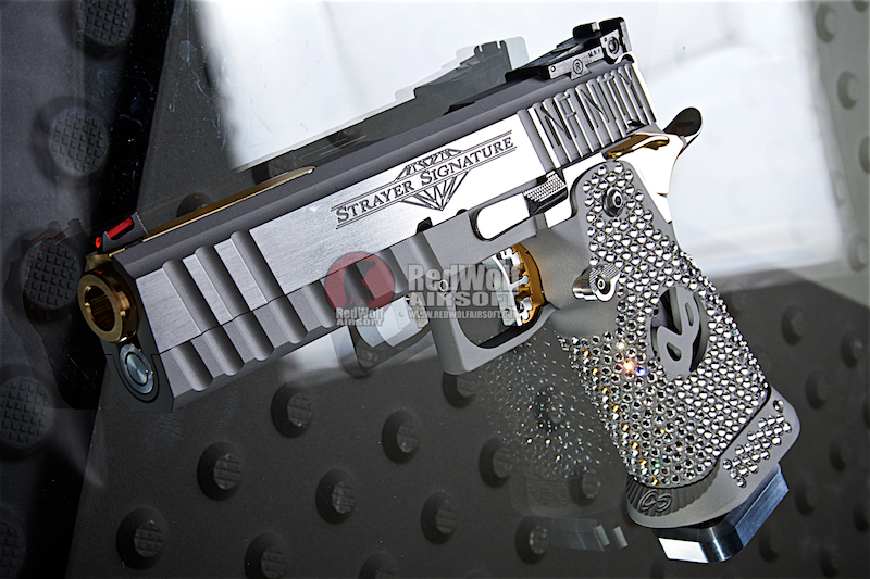 Airsoft Surgeon SV Standard SWAROVSKI Crystal Blanc