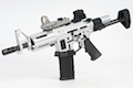 Airsoft Surgeon AR Pistol Silver