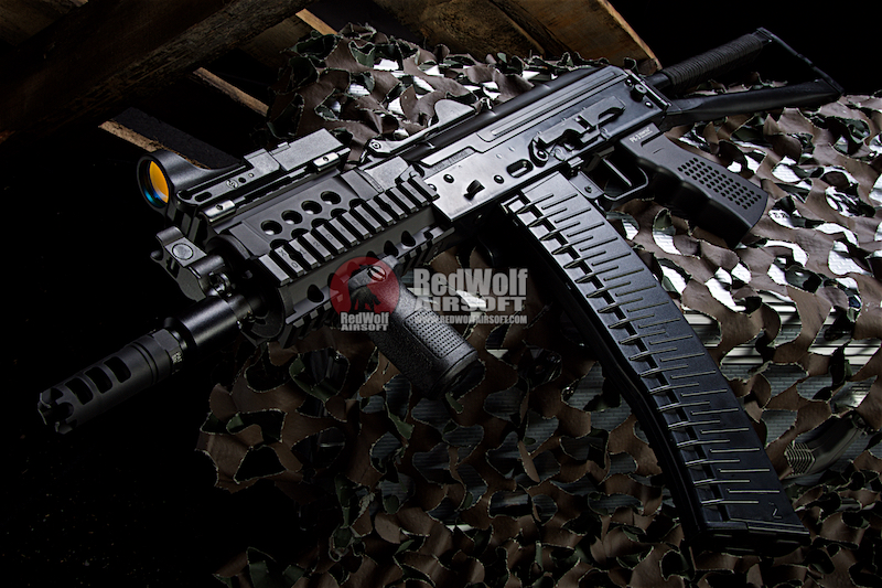 Airsoft Surgeon TAC AK74U GBBR - Black Edition