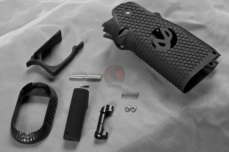 Airsoft Surgeon Infinity CNC Aluminum Grip Signature Mobius - TITAN