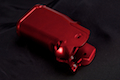 Airsoft Surgeon Infinity CNC Aluminum Grip Sand paper Version - Red