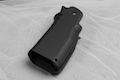 Airsoft Surgeon Infinity CNC Aluminum Grip Sand paper Version - Black