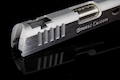 Airsoft Surgeon CNC BRAZOS Custom Slide & Compensator Set (Silver)