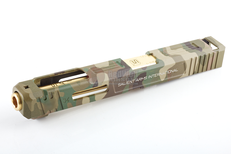 Airsoft Surgeon SAI Arms Costa Style Model 34 Slide Set For Marui Model 17 - Multicam (Limited Edition)