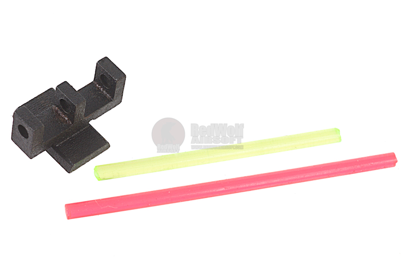 Airsoft Surgeon Glow Fiber Sight for Tokyo Marui Hi-Capa Series (Type 1)