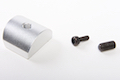 Airsoft Surgeon Aluminum Magwell for Tokyo Marui G17 / 18C  - Silver