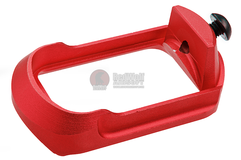 Airsoft Surgeon Compact Magwell for Tokyo Marui G17/ G18C & Umarex/VFC G19 - Red