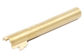 Airsoft Surgeon Stainless Steel Outer Barrel for Tokyo Marui Hi-Capa 5.1 GBB - Gold