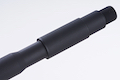 Airsoft Surgeon 14.5 inch Aluminum M4 Lightweight Carbine Outer Barrel for Tokyo Marui M4 MWS (14mm CCW)